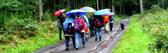wander gruppe saarland regen