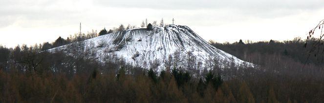 bergehalde schnee