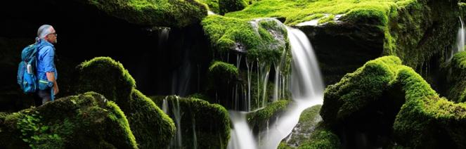 wasserfall wander saarland